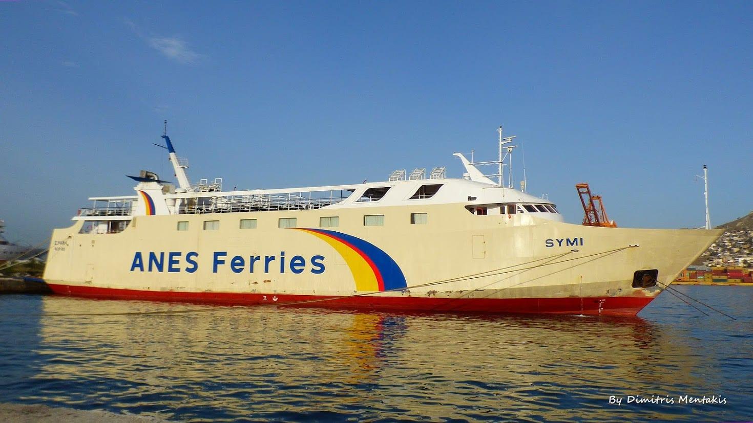 Anes Ferries Symi boat