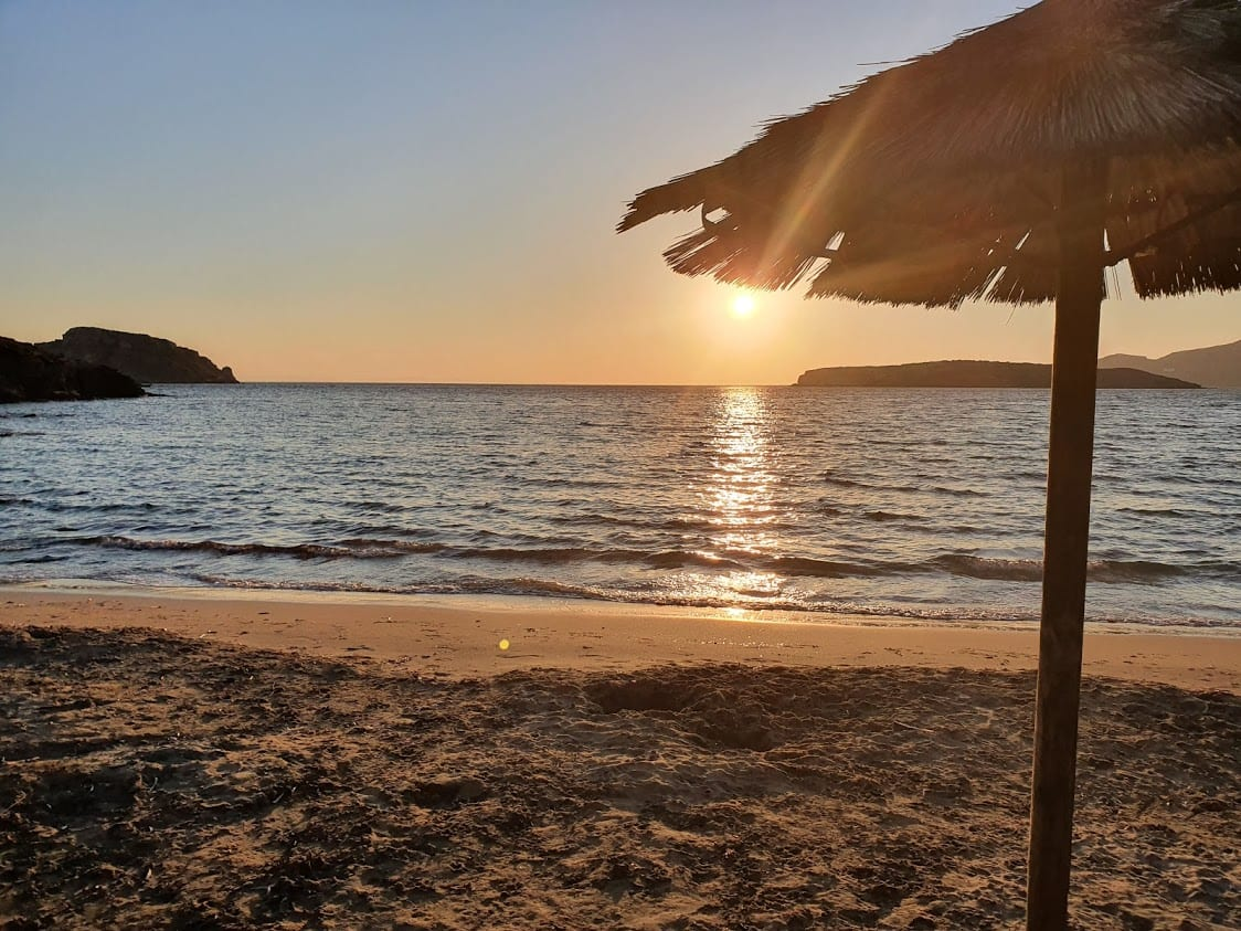 Komito Beach Sunset