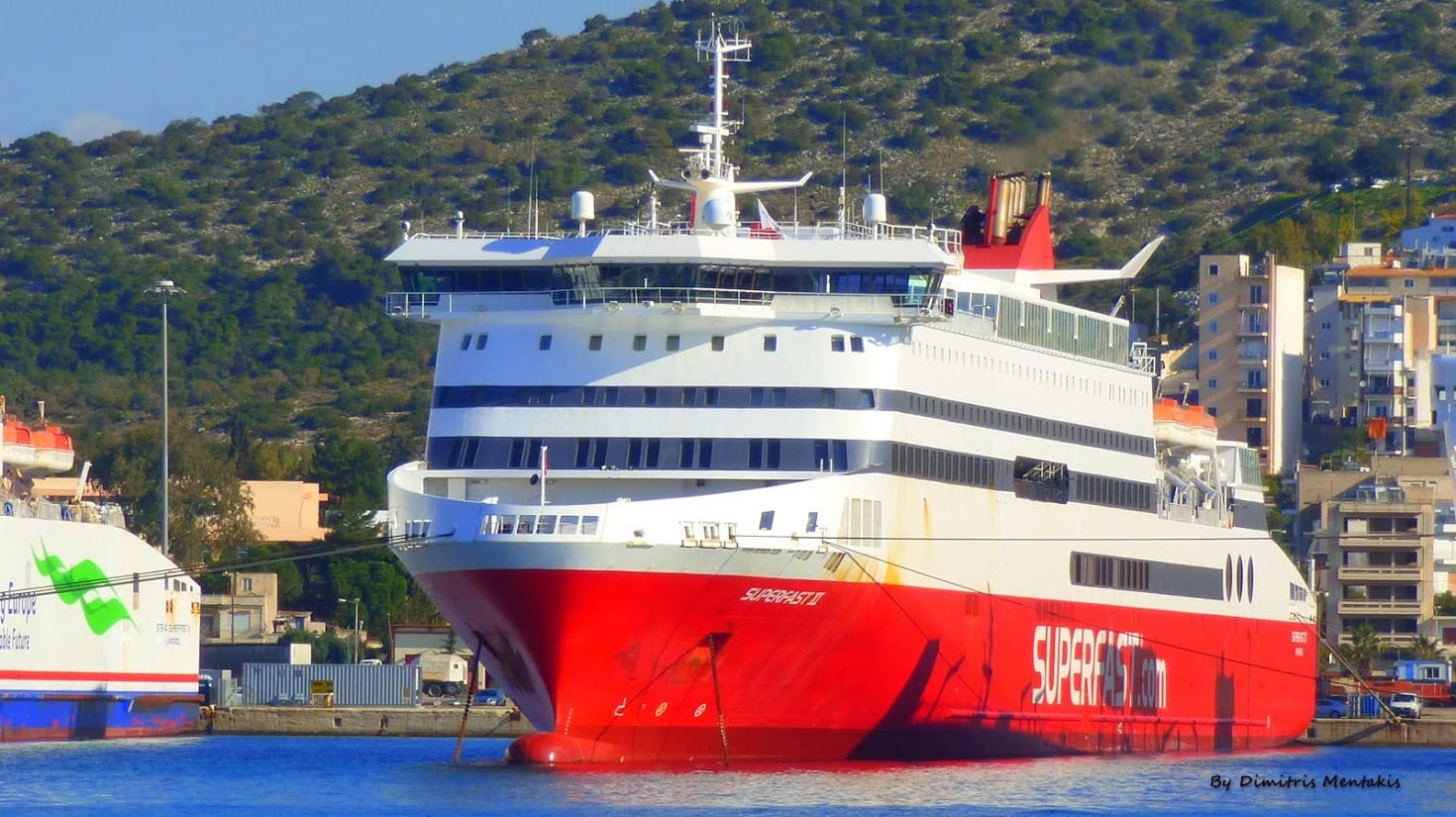 Superfast Ferry Greece
