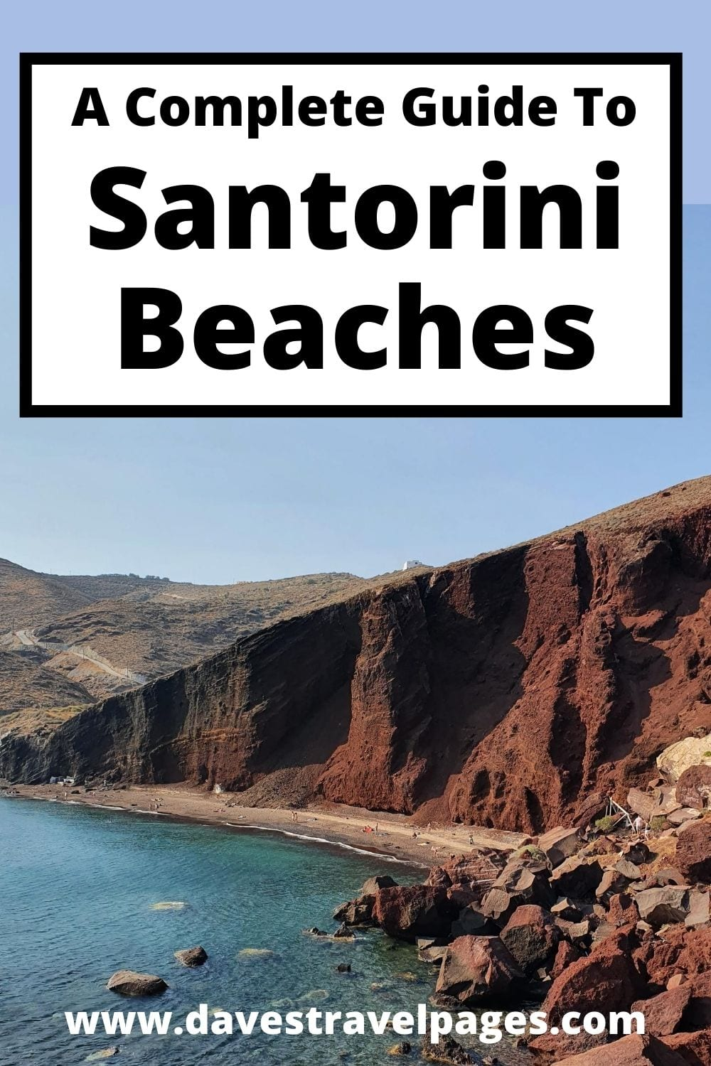 A complete guide to the best Santorini Beaches
