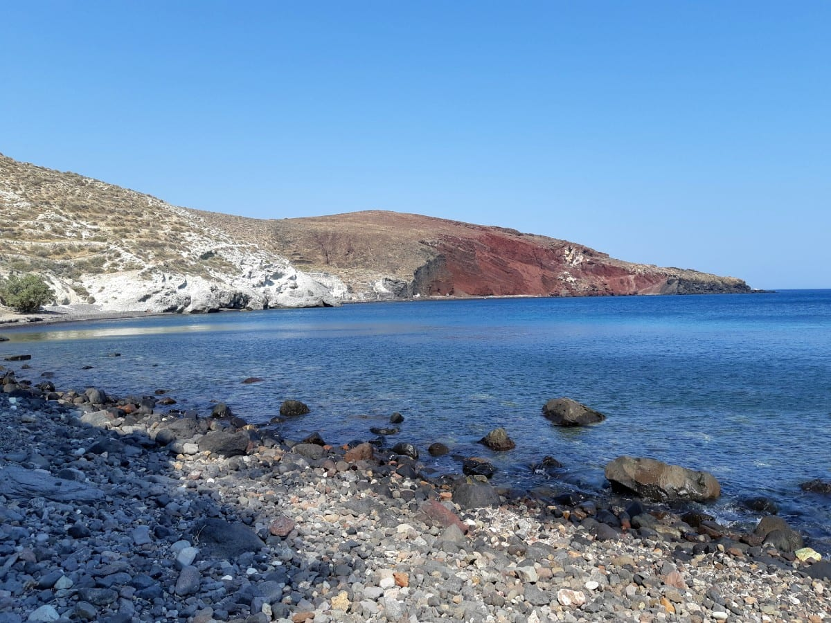 Kambia Beach on Santorini