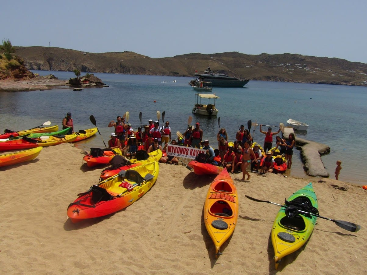 Mykonos Kayak Tour