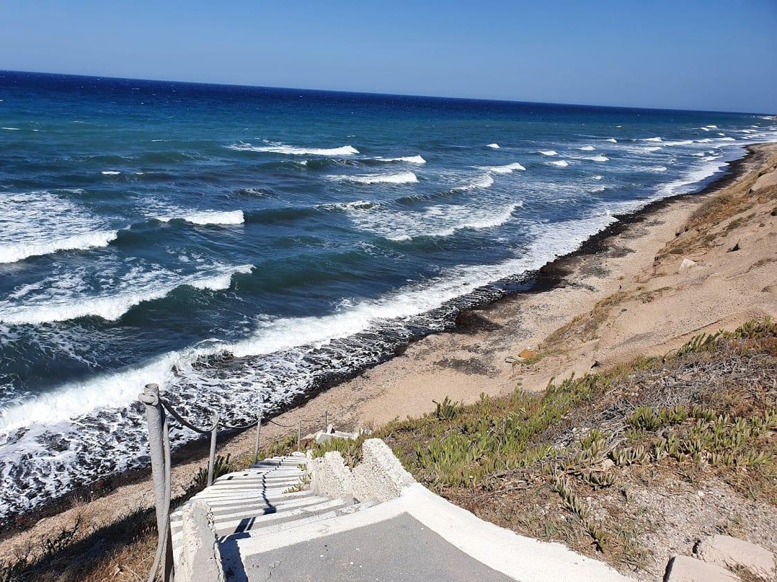 Baxedes Beach Front in Santorini