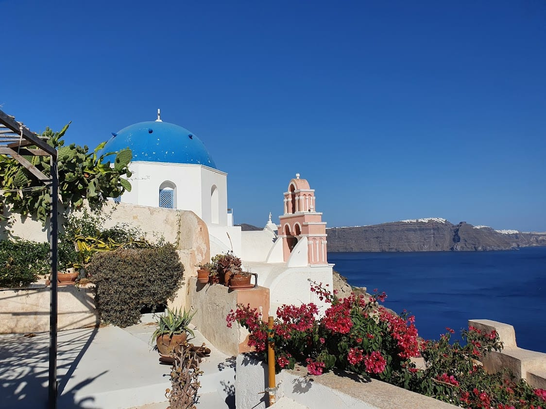 Discovering Santorini in Greece