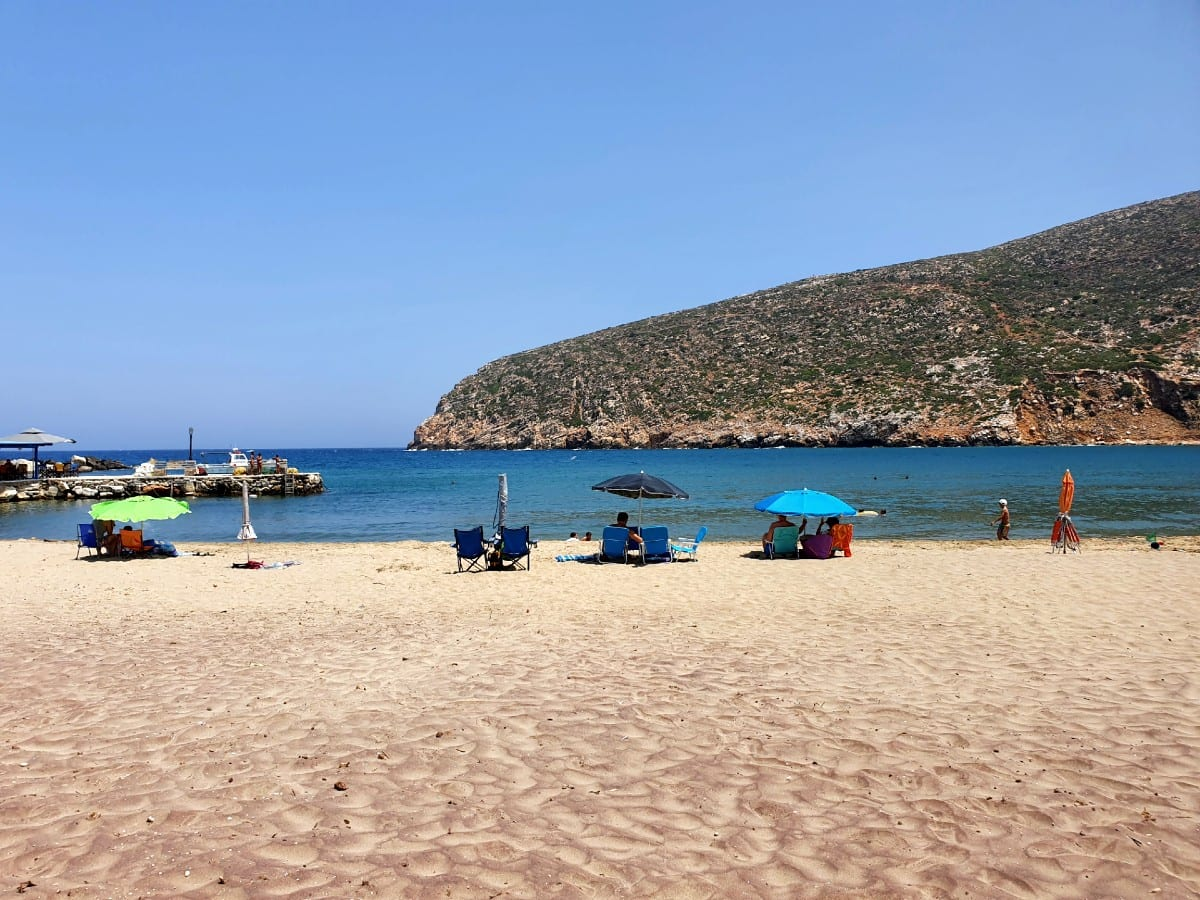 Apollonas beach Naxos