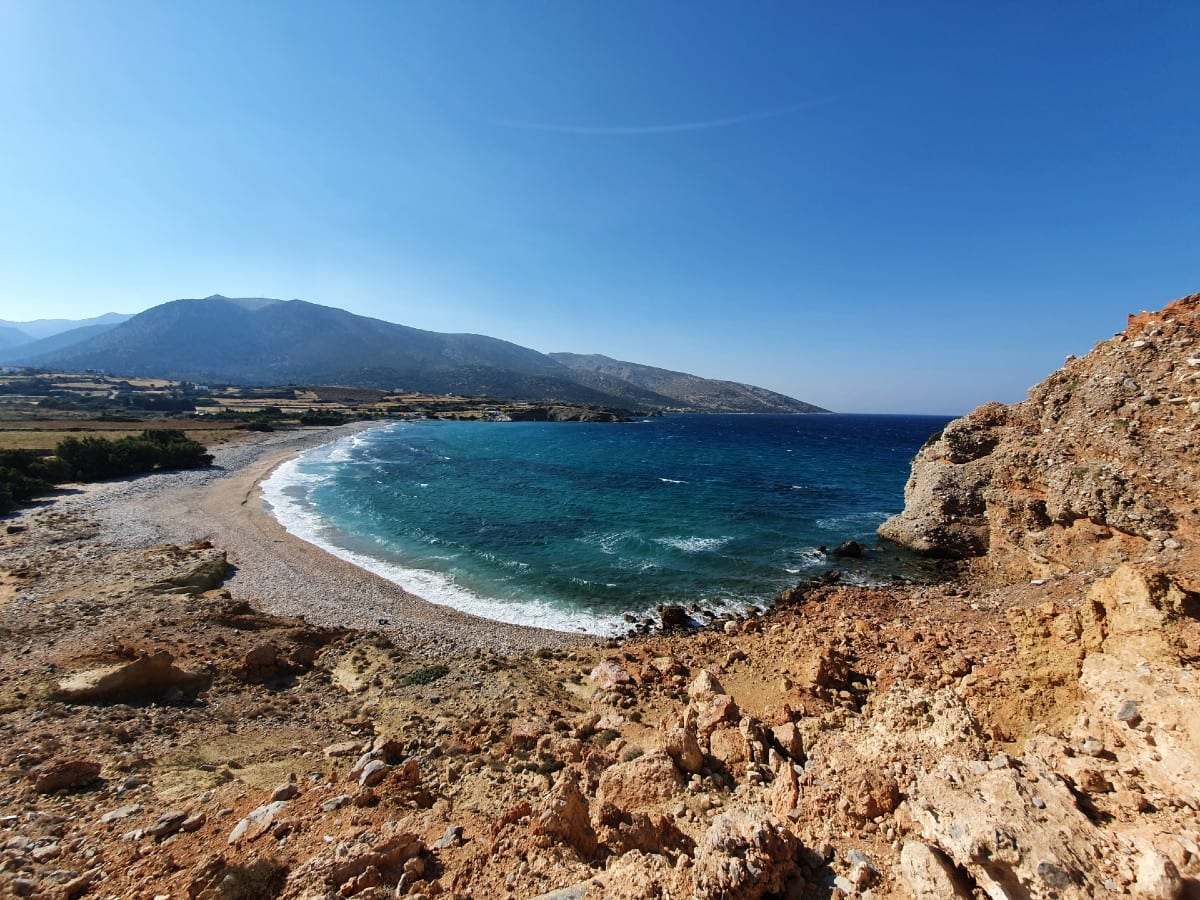Probably Azalas beach in Naxos