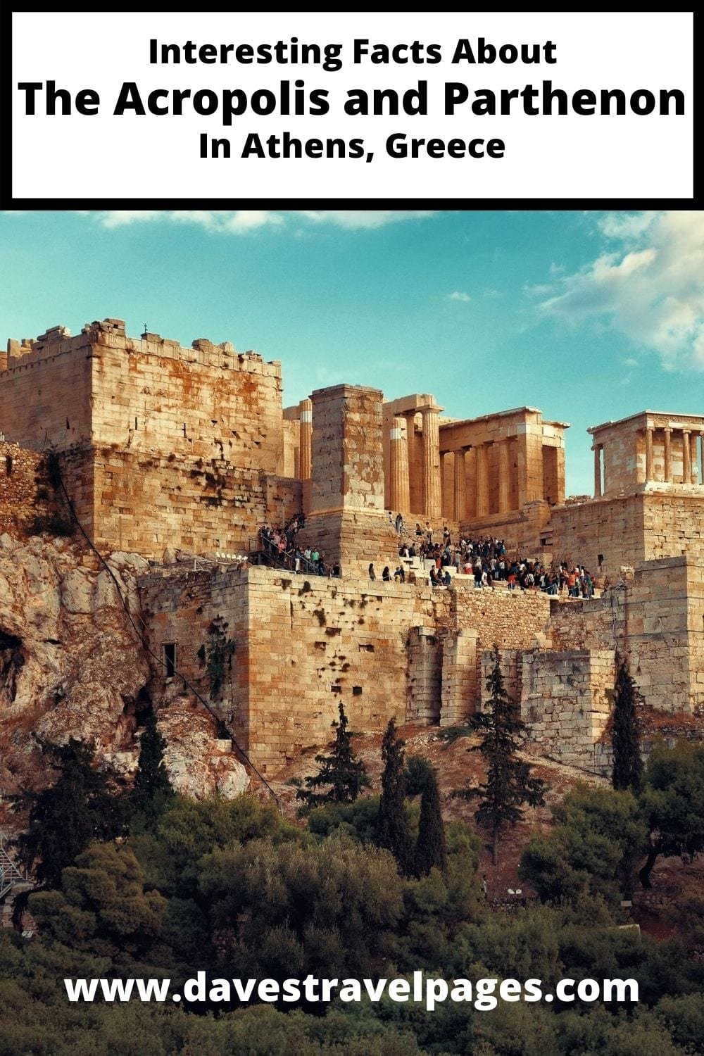 Interesting Facts About the acropolis and parthenon in athens greece