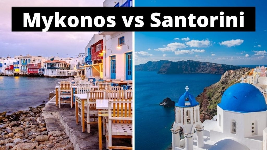 Mykonos or Santorini - Which is better?