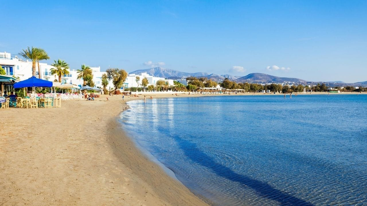 Naxos Agios Georgios City Beach