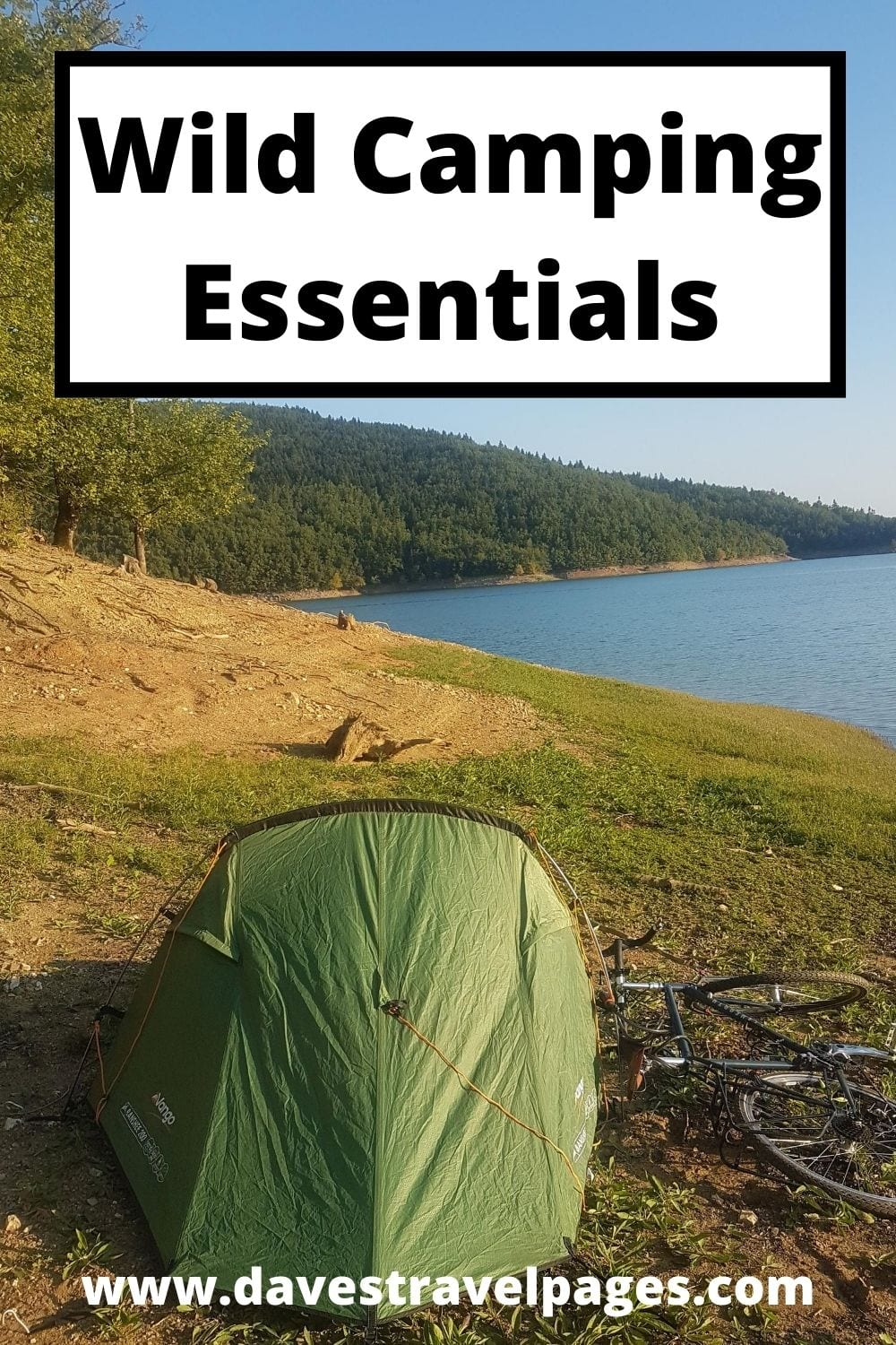Wild Camping Essentials - In this beginners guide to wild camping essentials, I go over the basic kit needed for your first free night under the stars.