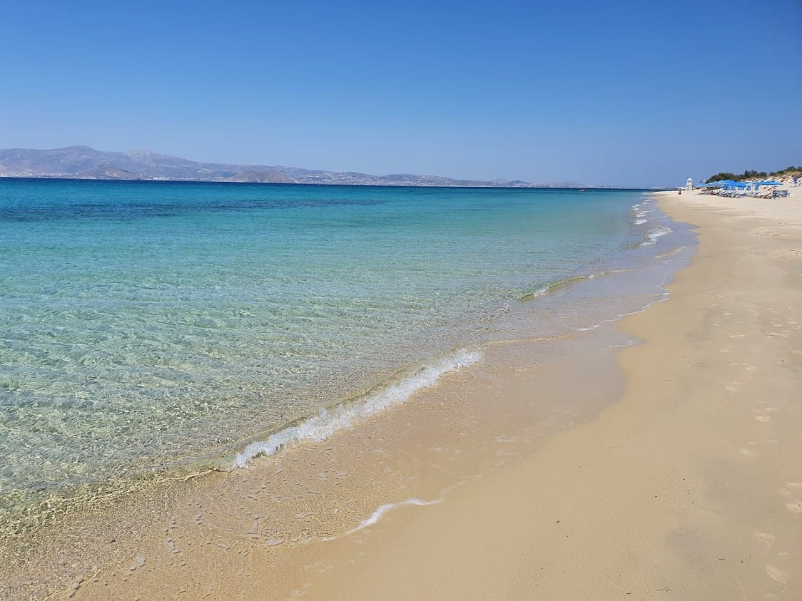 Beaches in Naxos