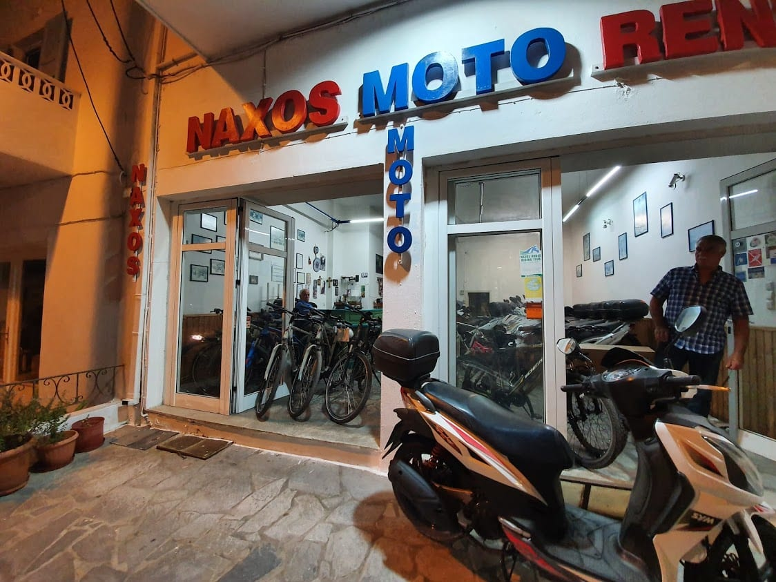 Naxos vehicle rental