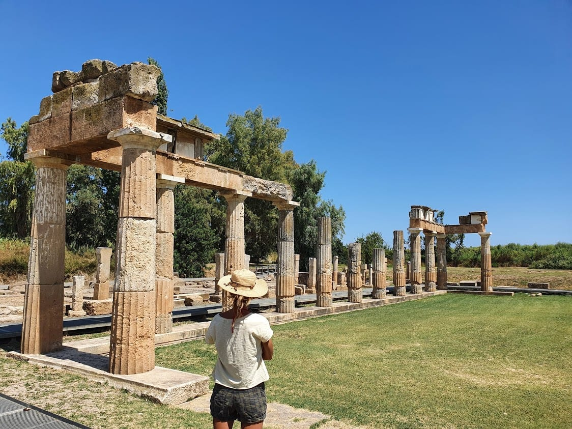 The Doric temple of Vravrona