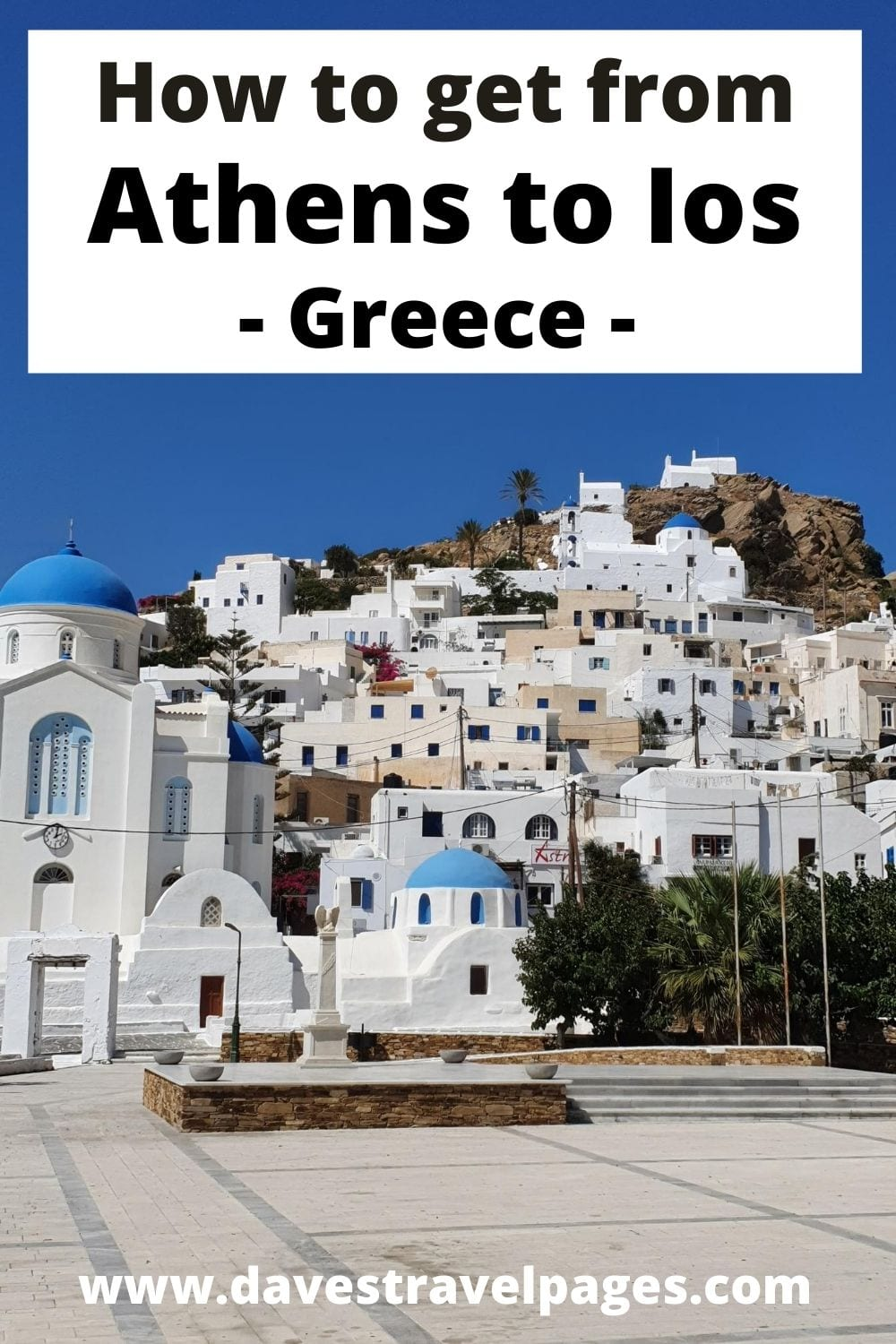 How to get from Athens to Ios in Greece by ferry