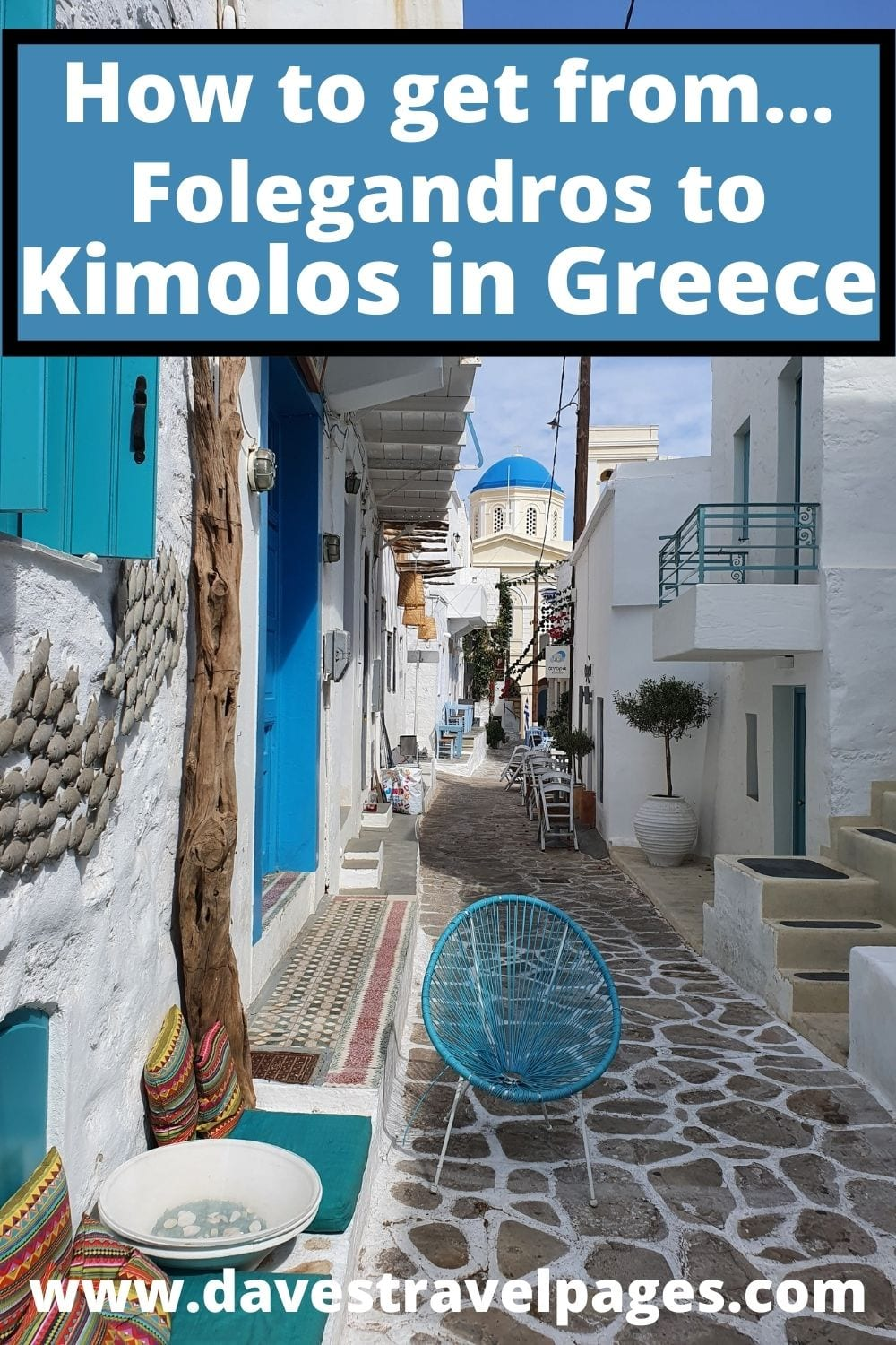 Pin this travel guide on how to get from Folegandros to Kimolos in Greece for later