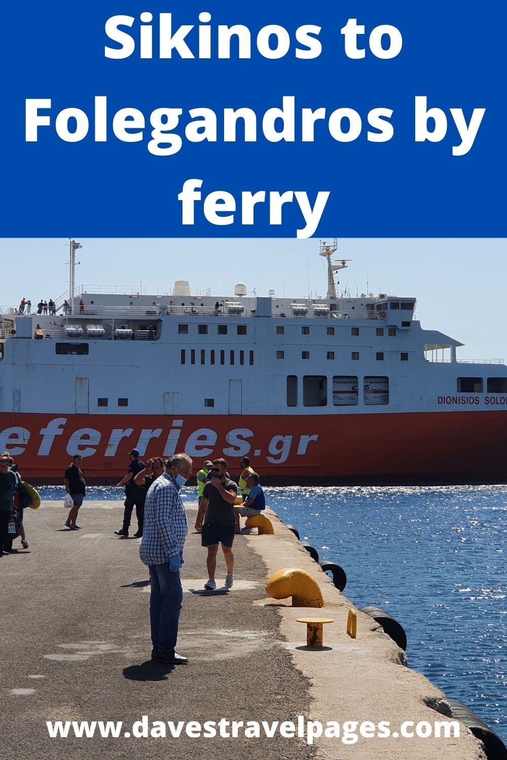 Sikinos to Folegandros ferry guide