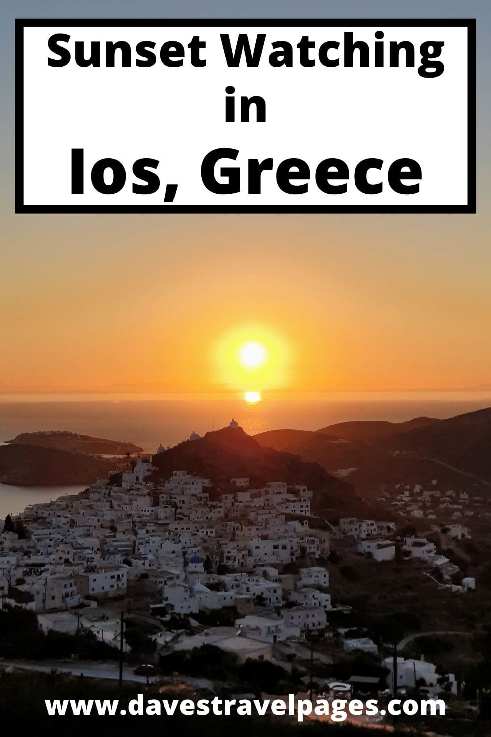 Where to watch the sunset in Ios, Greece - Best places