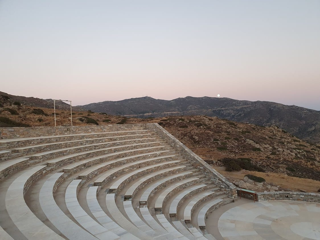 The new Amphitheater of Ios