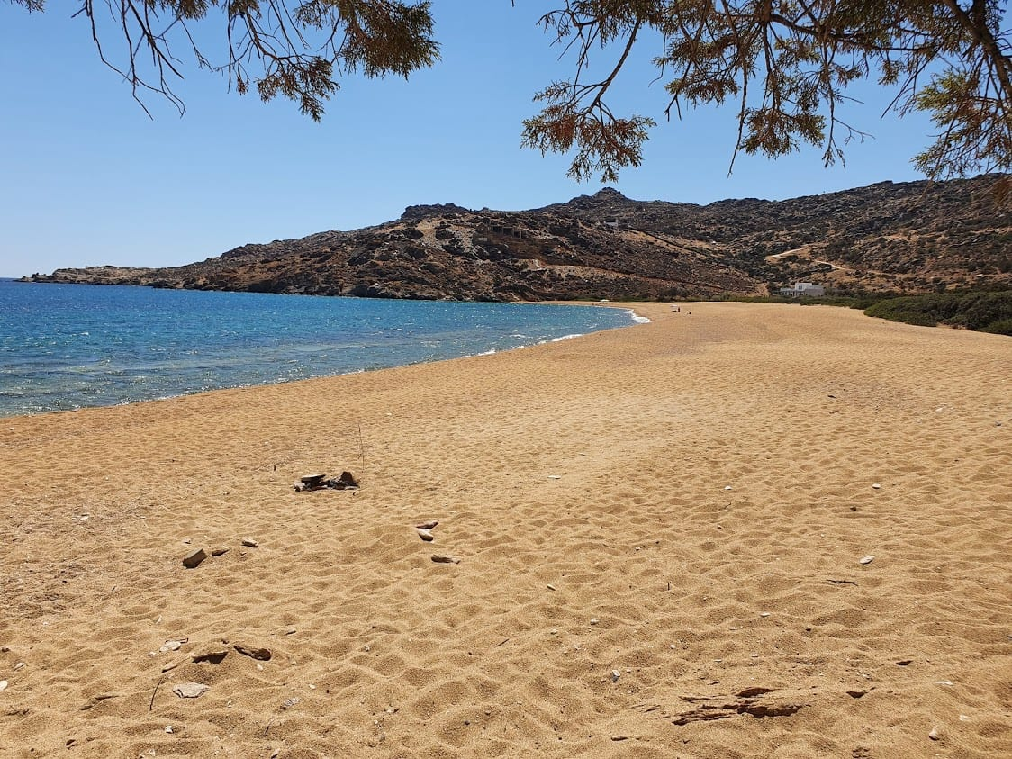 One of the beaches in Ios