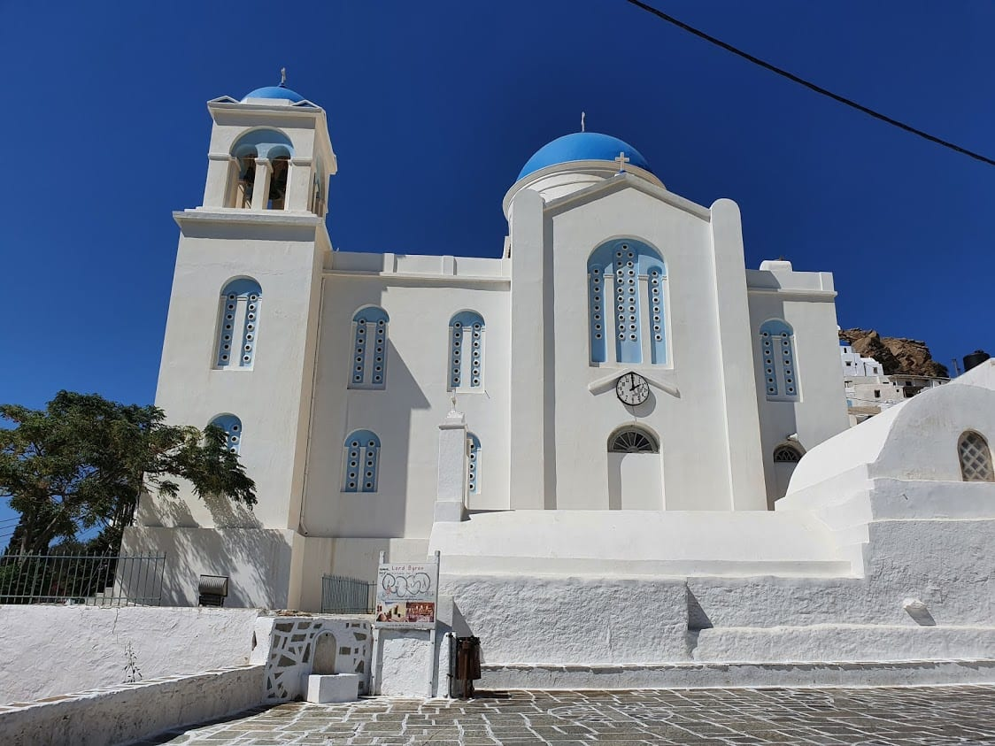 One of the churches on Ios Island