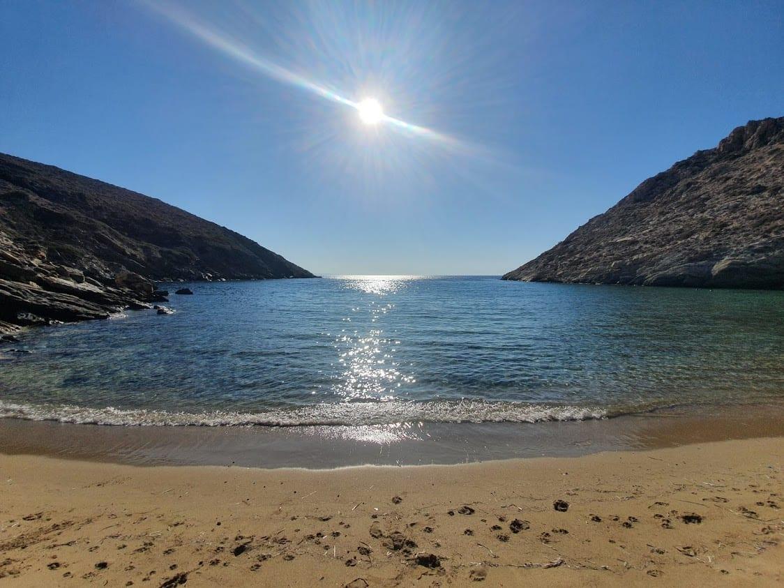 Loretzena Beach in Ios Greece