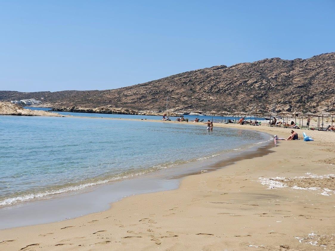 Manganari Beach in Ios Greece