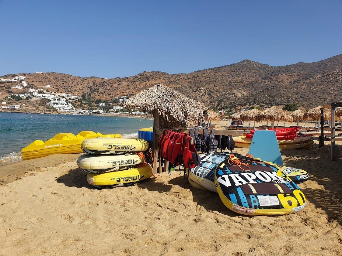 Meltemi Watersports on Ios Island in Greece