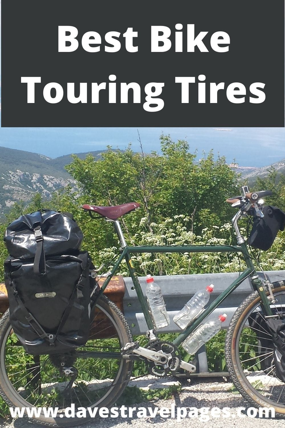 A guide to the best trekking tires for bicycle touring