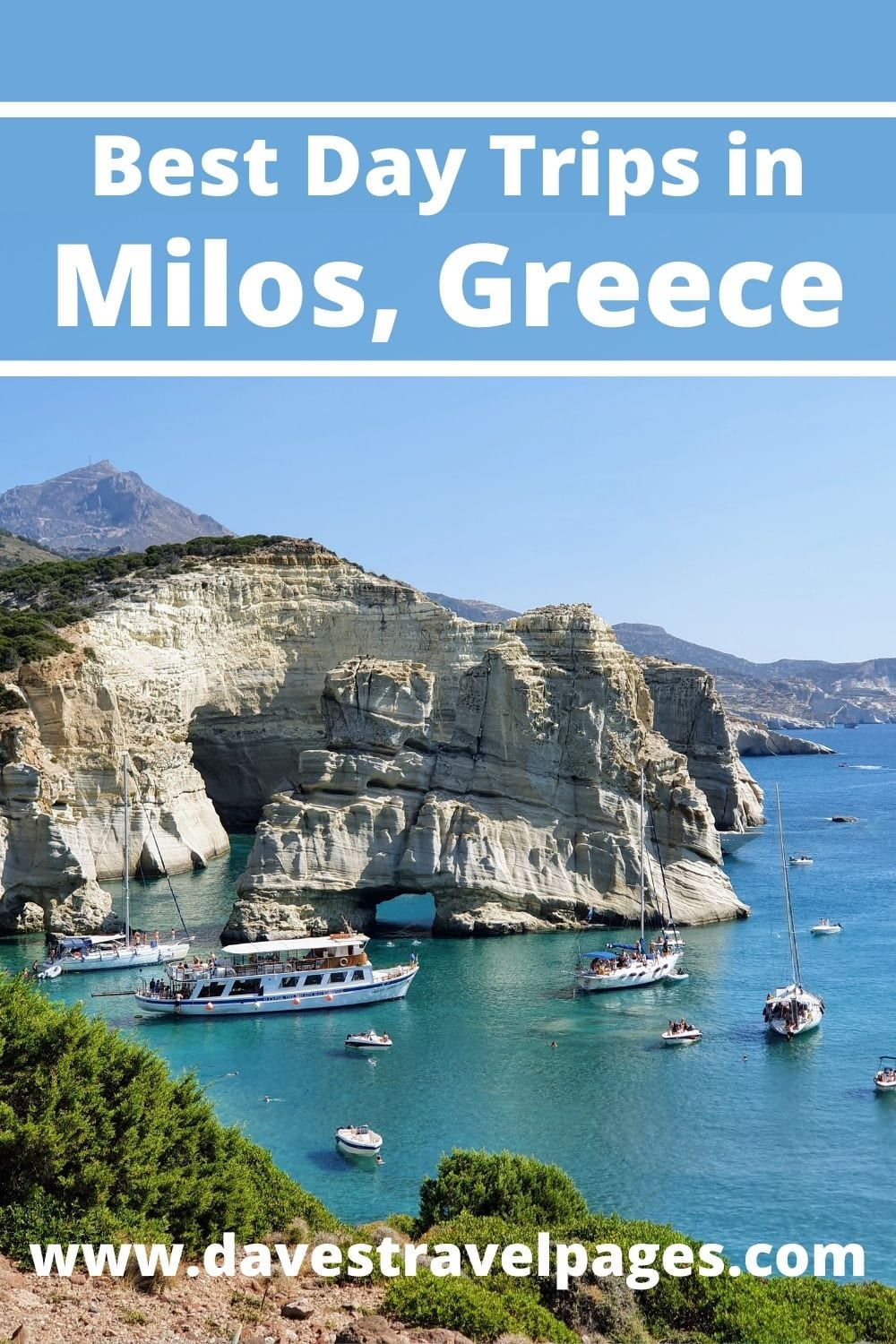 A guide to the best day trips in Milos Greece