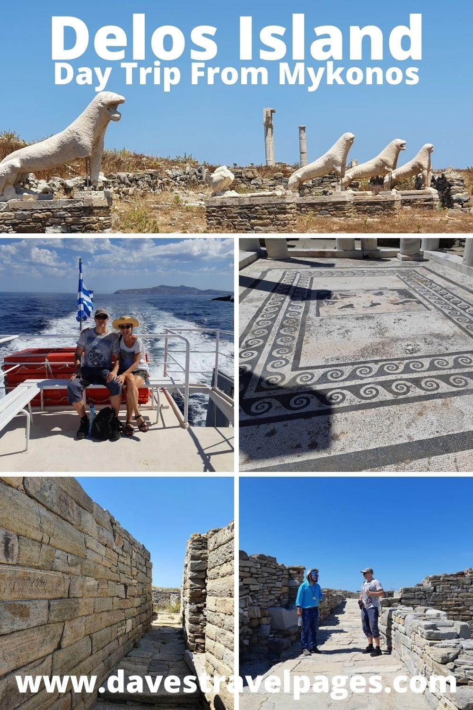 Delos island day trip from Mykonos