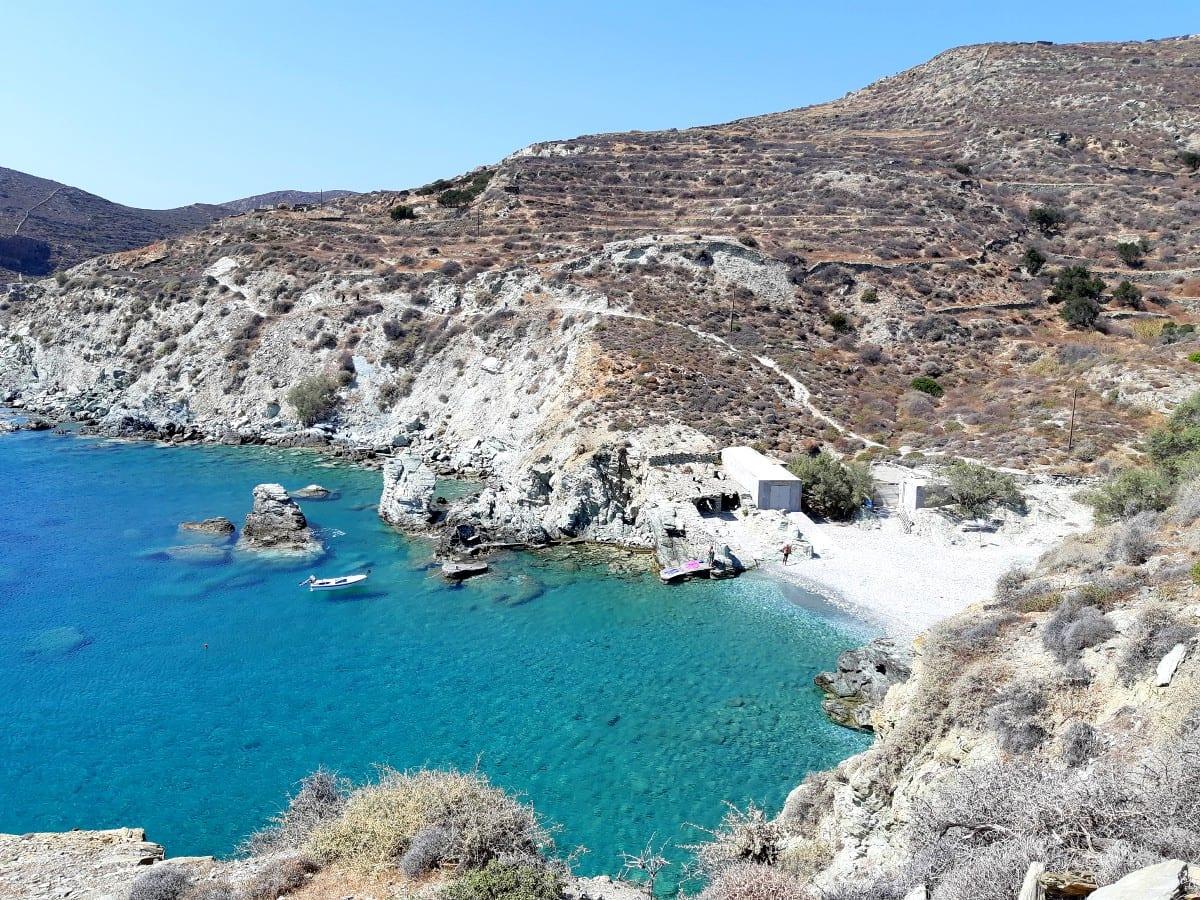Galifos Beach Folegandros Island Greece