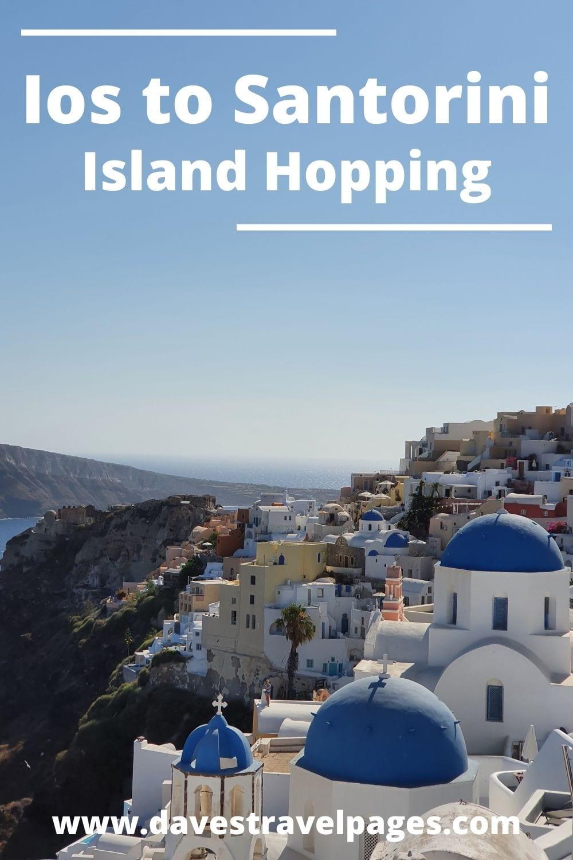 Ios to Santorini Island Hopping Guide