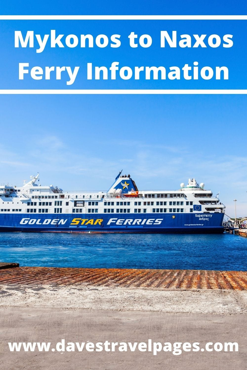 Mykonos to Naxos ferry guide and information
