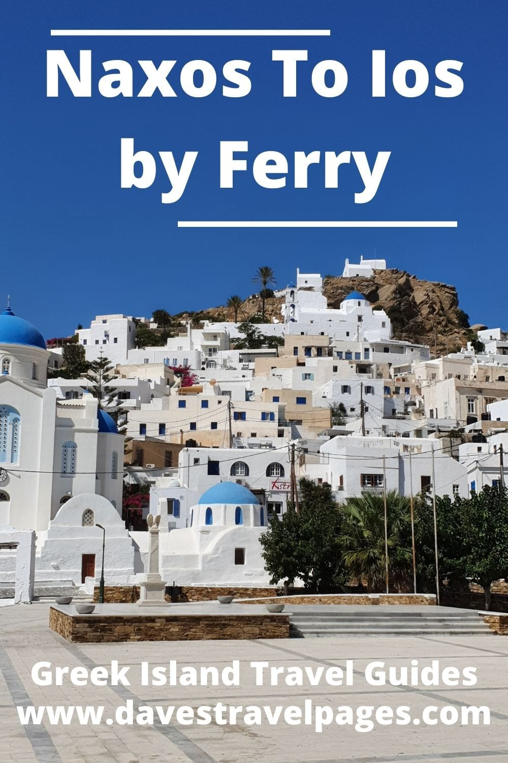 Naxos to Ios Ferry guide and travel information