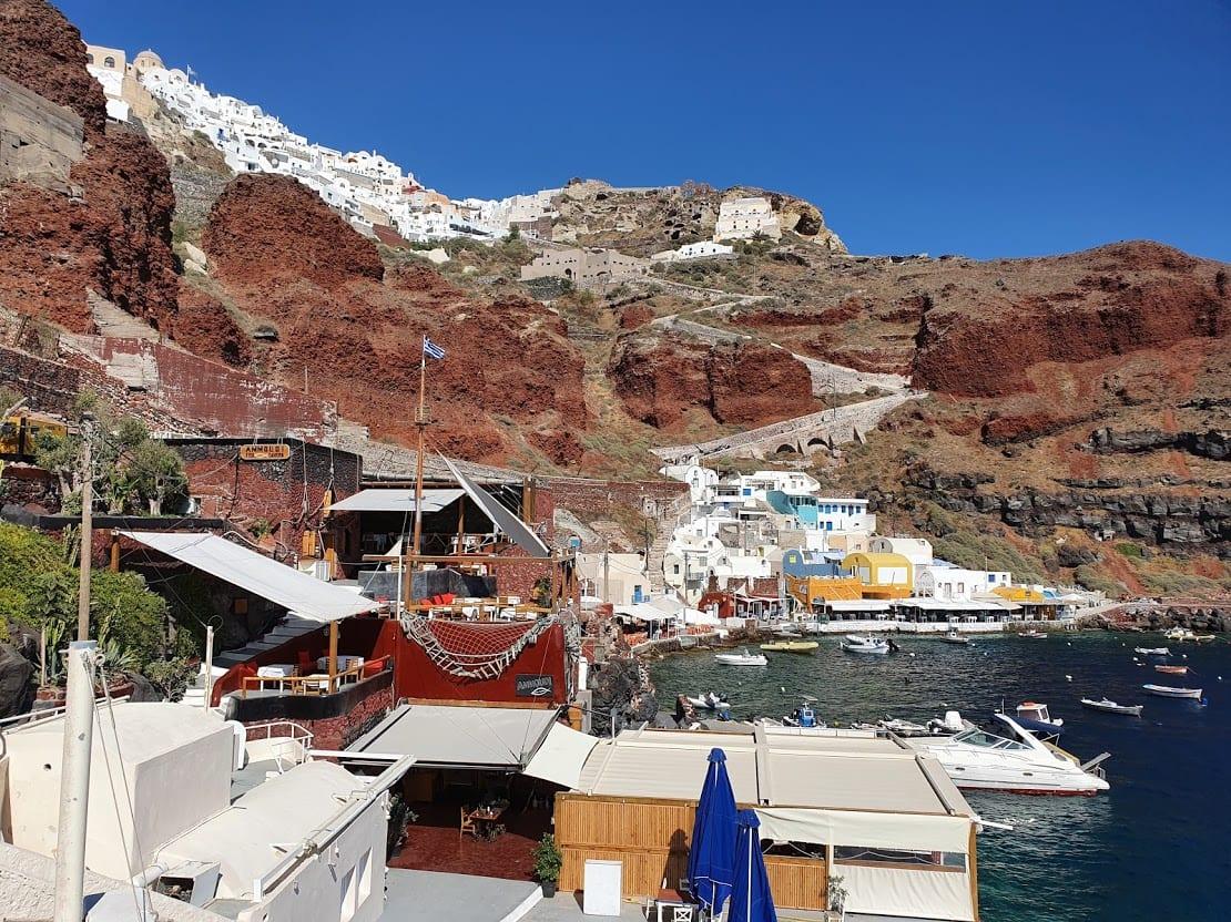 Ormos Ammoudiou in Santorini