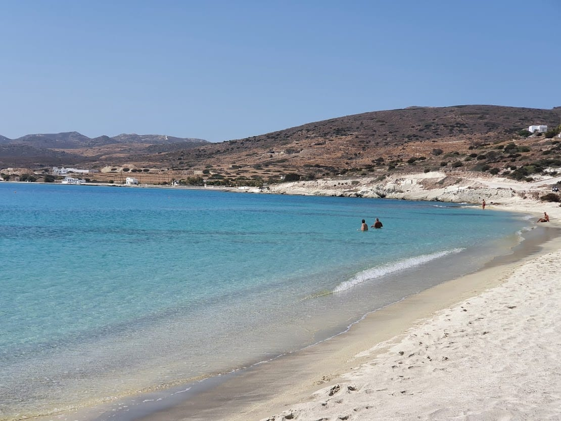 Prassa beach in Kimolos