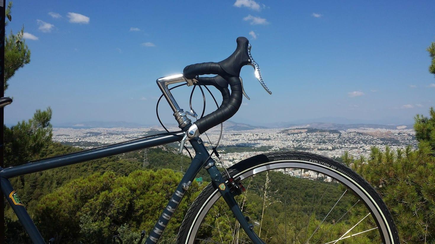 Schwalbe tires on my Stanforth Skyelander touring bike