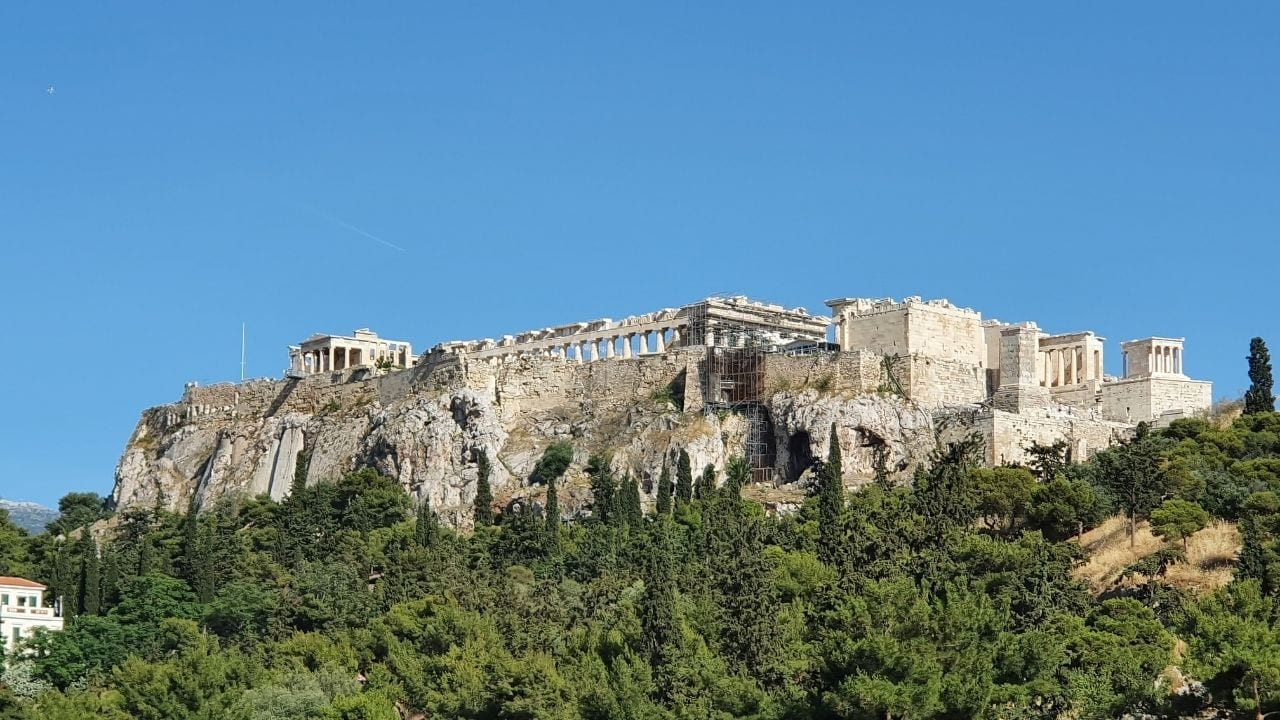 The Acropolis is one of the major landmarks in Greece