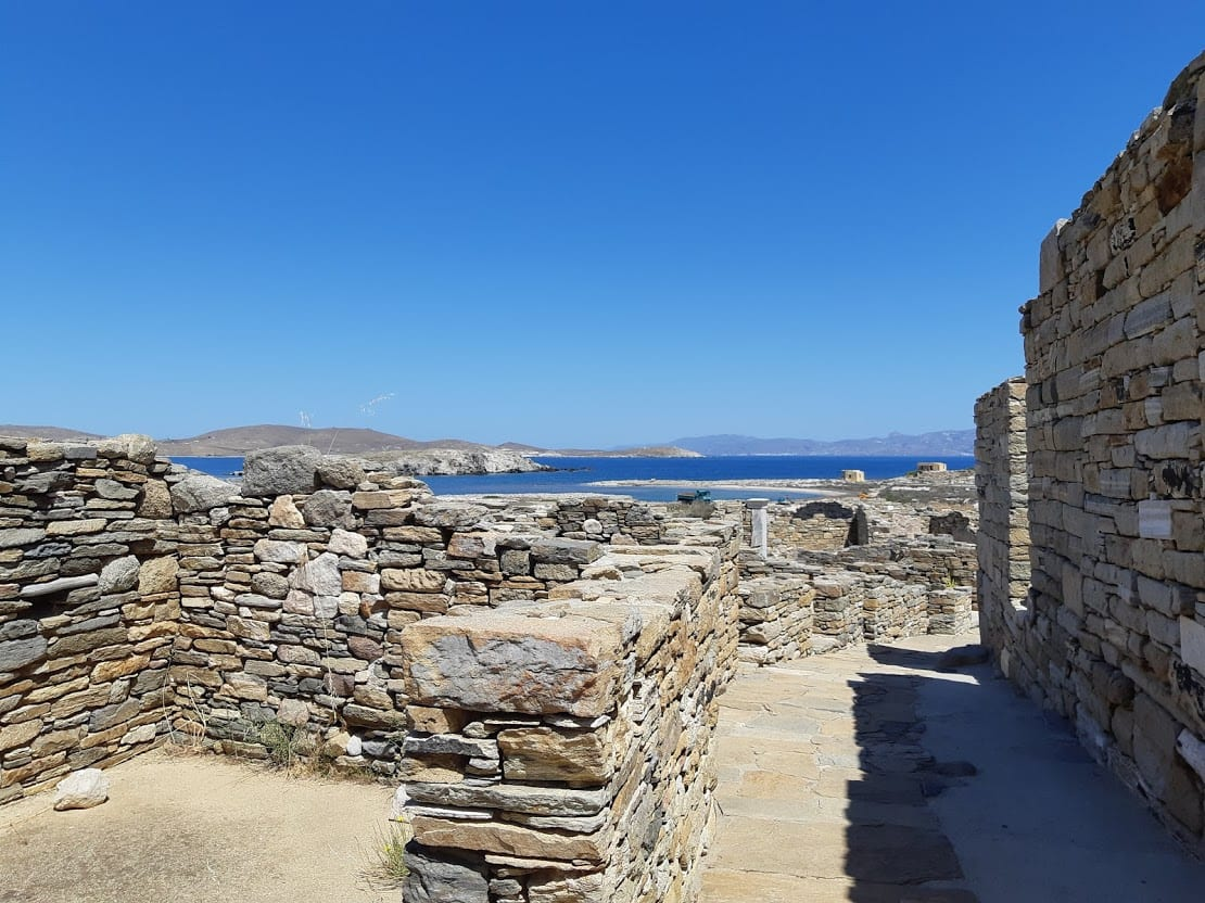 A view from Delos