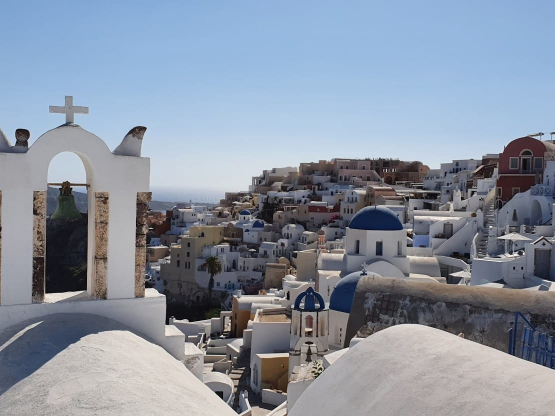How to take the ferry from Ios to Santorini in Greece