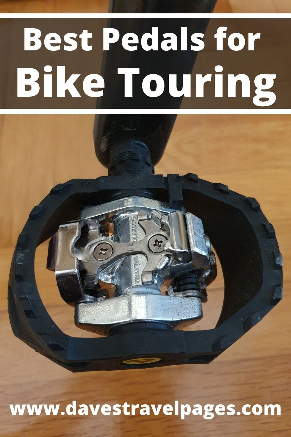 Best Pedals for Bike Touring and Bikepacking