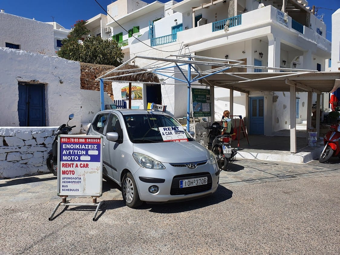 Car rental in Alopronia in Sikinos