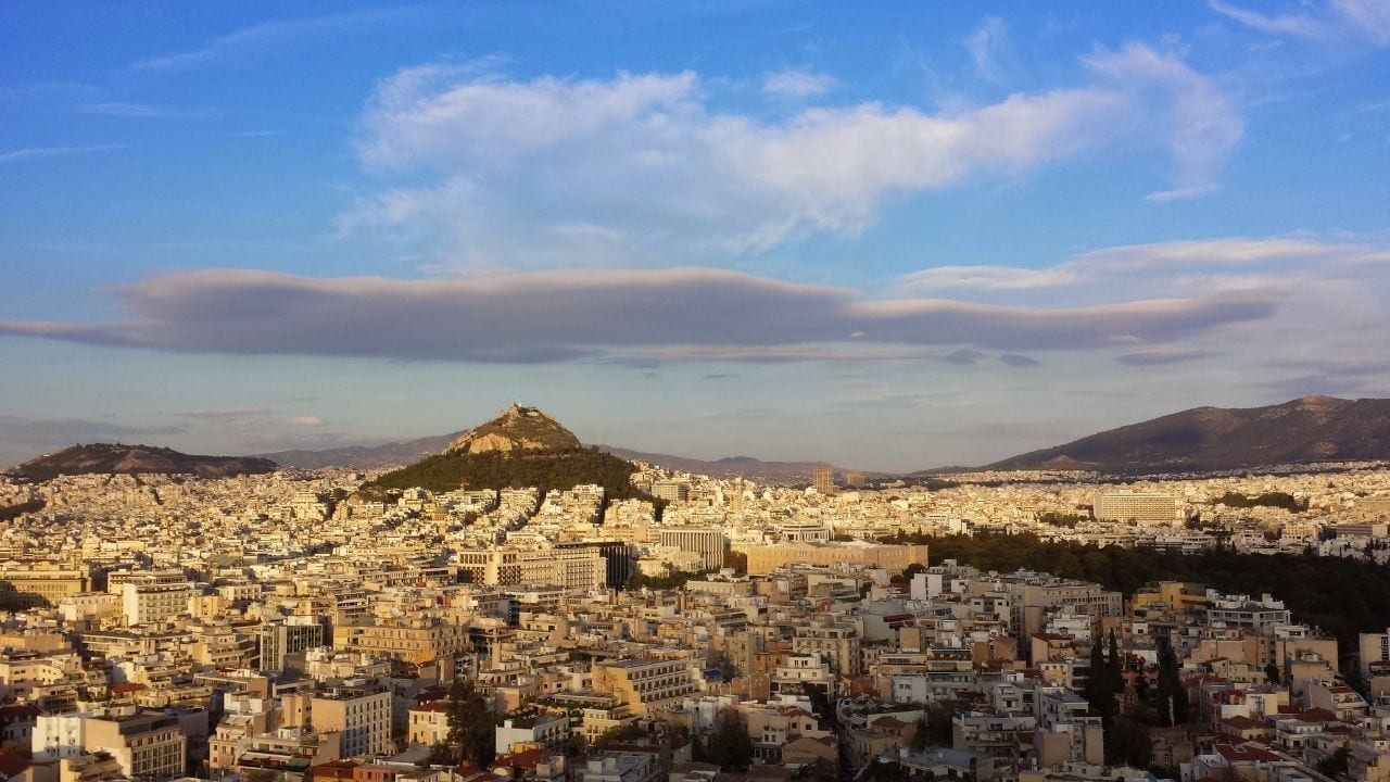 The Hills of Athens are well known city landmarks