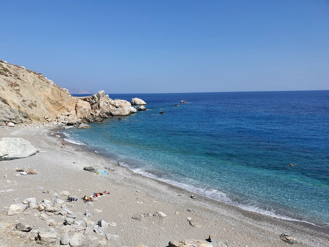 Katergo beach in Folegandros