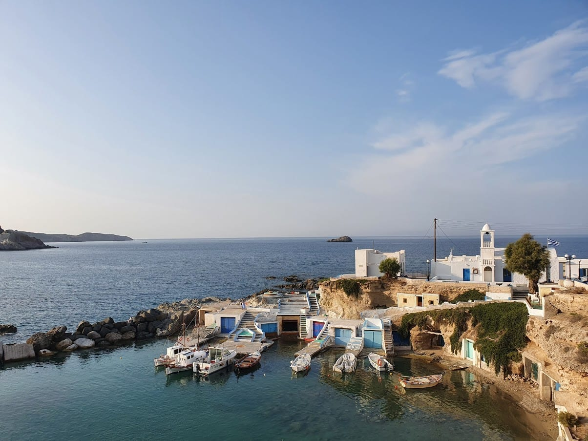 Mandrakia in Milos Greece