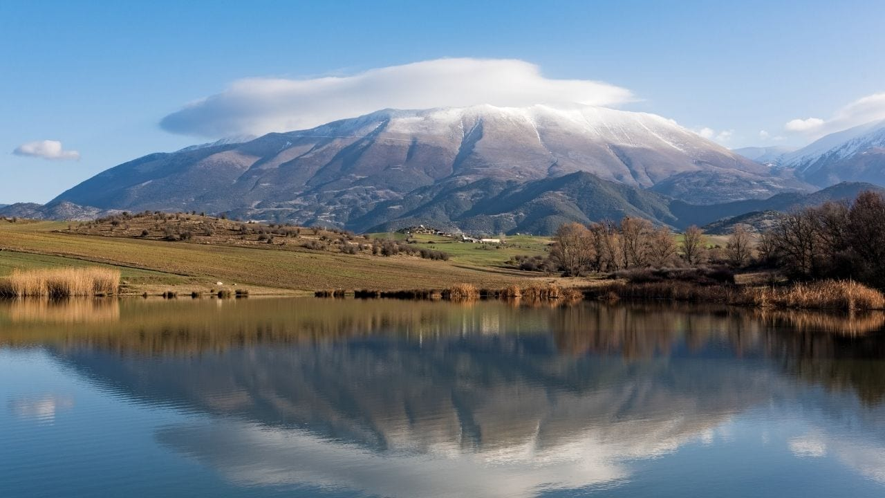 Mount Olympus in Greece - Home of the Greek Gods