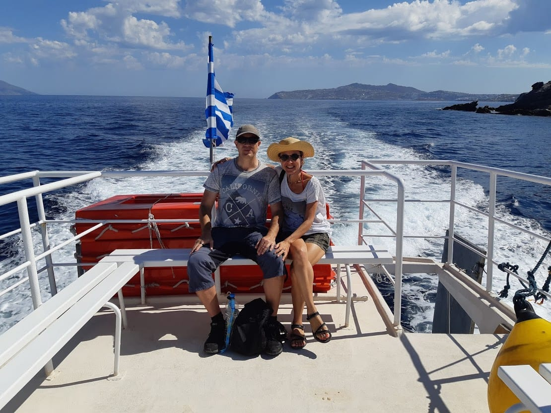 Taking the day trip from Mykonos to Delos