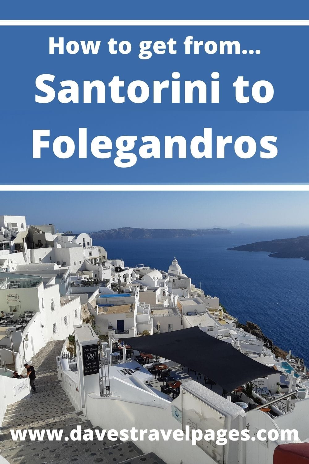 Santorini to Folegandros by Ferry