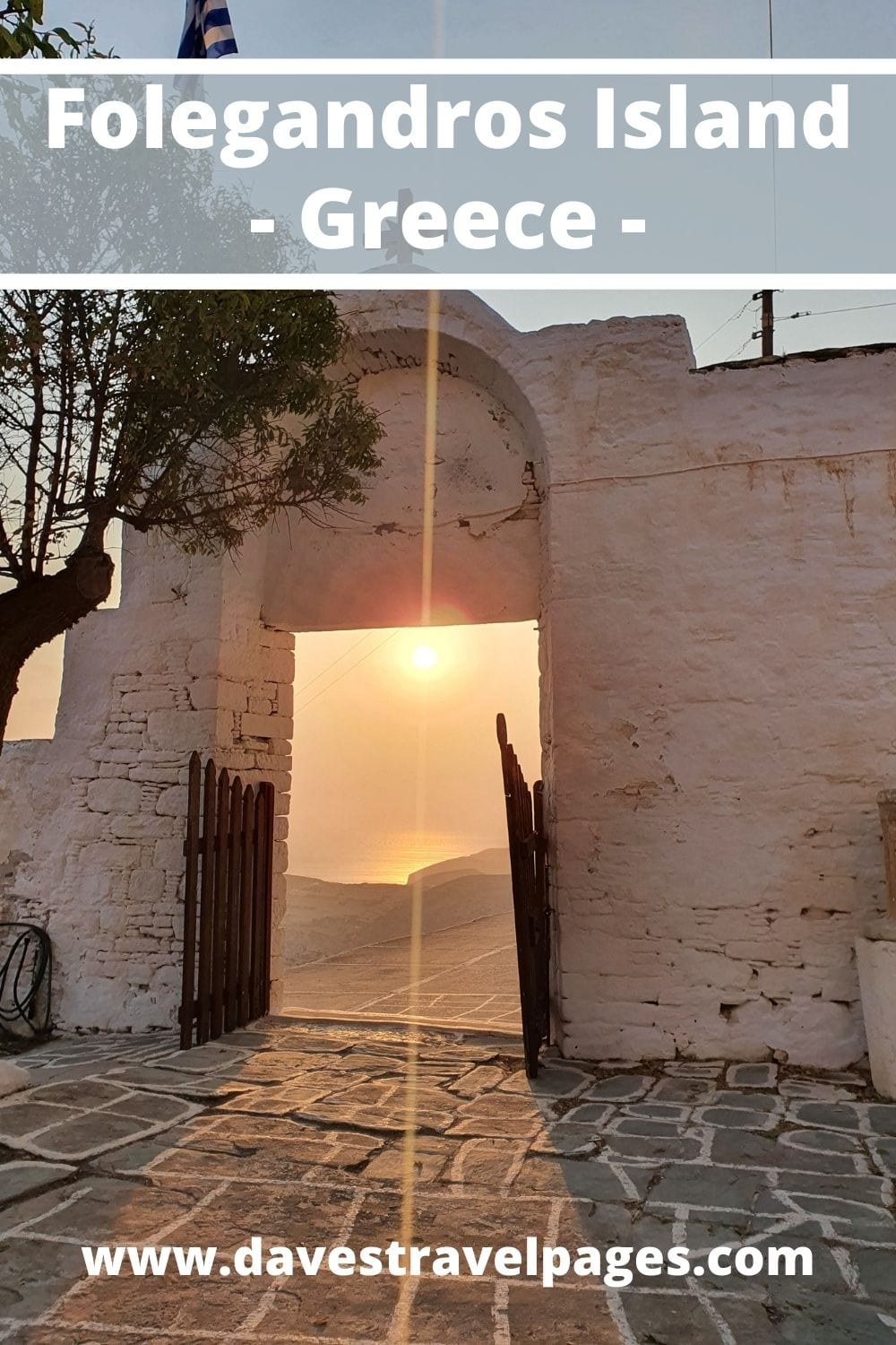 A travel guide to Folegandros Island in Greece