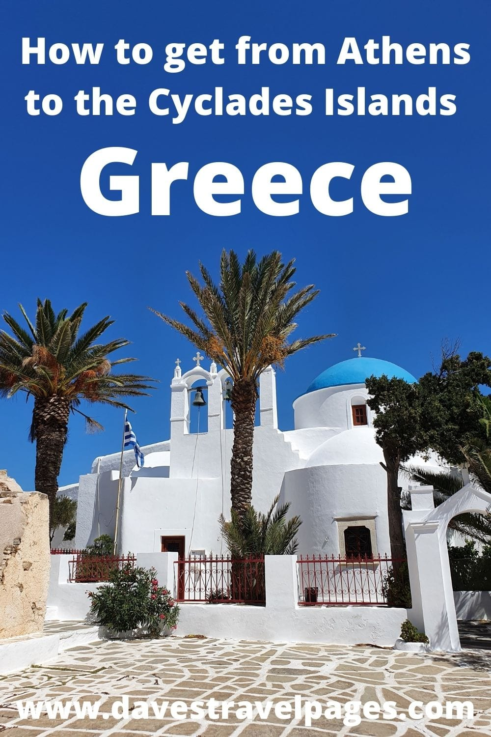 How to get from Athens to the Cyclades islands in Greece